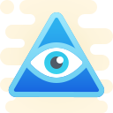 Third Eye Symbol icon