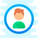 user male-circle icon