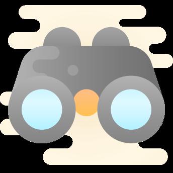 binoculos busca