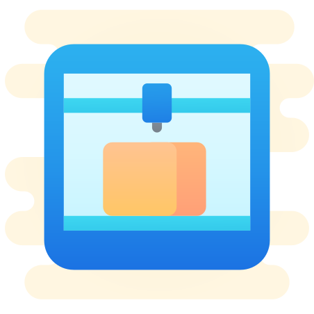 3D Printer icon in Cute Clipart