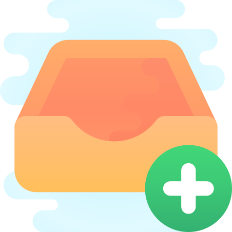 Add to Inbox icon in Cute Clipart