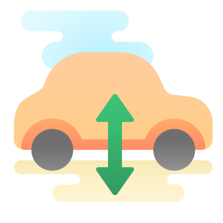 Air Suspension Warning icon