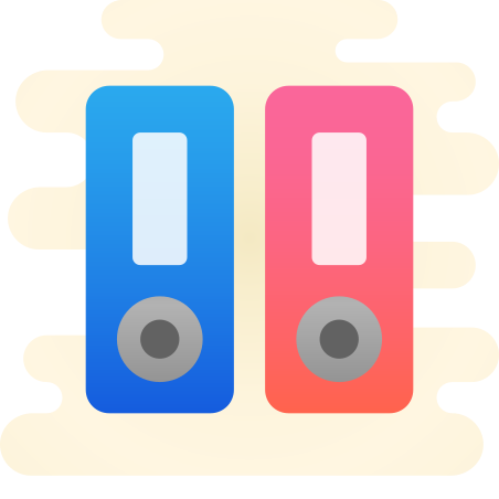 Binder icon in Cute Clipart