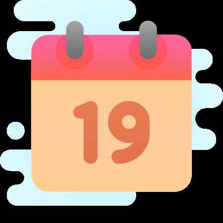 달력 (19) icon
