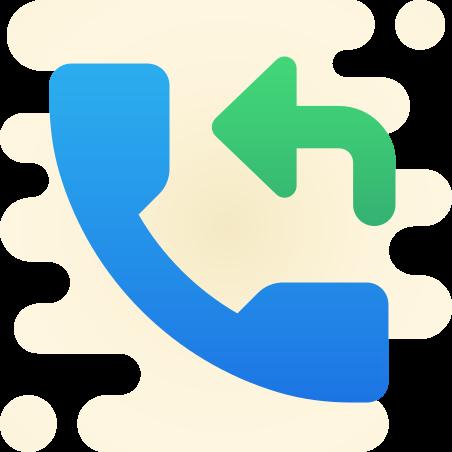 折り返し電話 icon