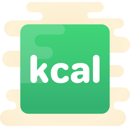 Calories icon in Cute Clipart