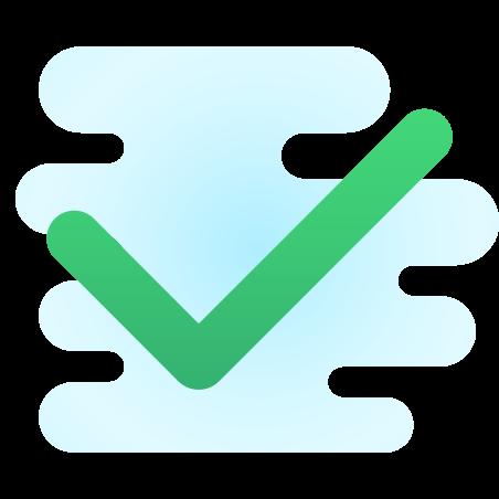 Checkmark icon in Cute Clipart