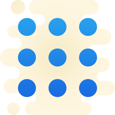 Circled Menu icon in Cute Clipart