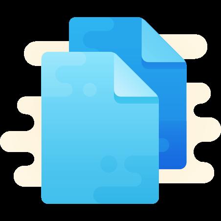 Copy icon in Cute Clipart