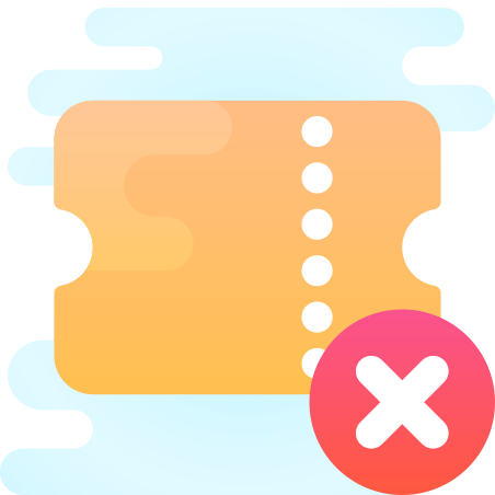 Delete Ticket icon