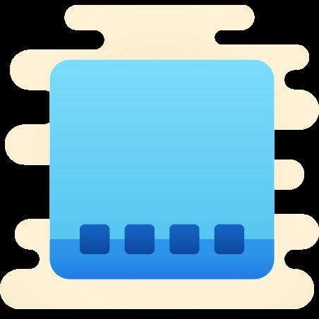 데스크톱 맥 icon in Cute Clipart