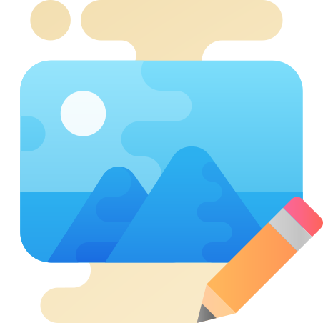 Edit Image icon in Cute Clipart