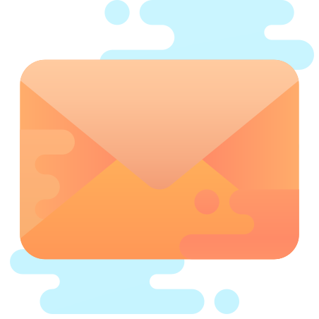 Envelope icon in Cute Clipart