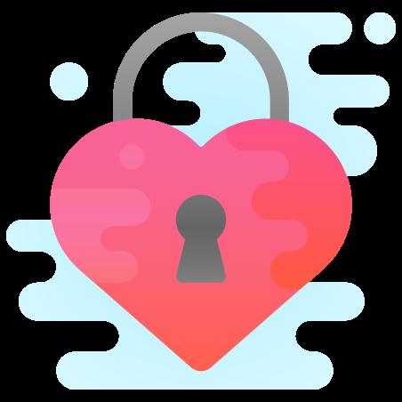 심장 잠금 icon