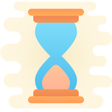 Sand Timer icon in Cute Clipart