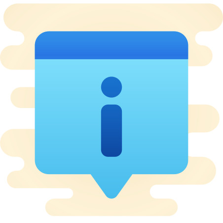 Info Popup icon in Cute Clipart