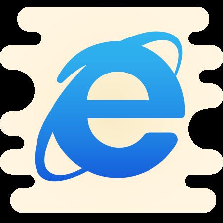 Internet Explorer icon in Cute Clipart