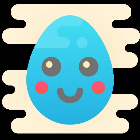 Huevo Kawaii icon