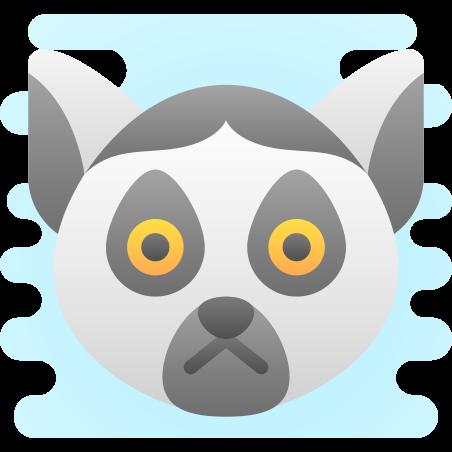 Lemur icon in Cute Clipart