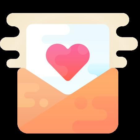 Love Letter icon in Cute Clipart