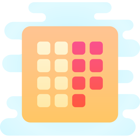 Month View icon in Cute Clipart