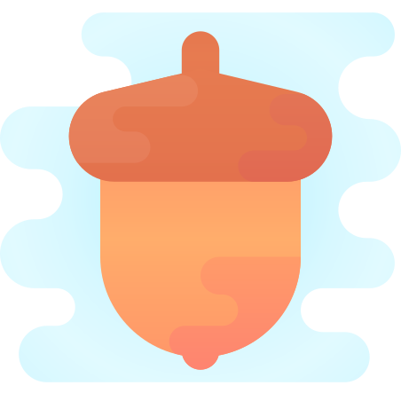 Nut icon in Cute Clipart
