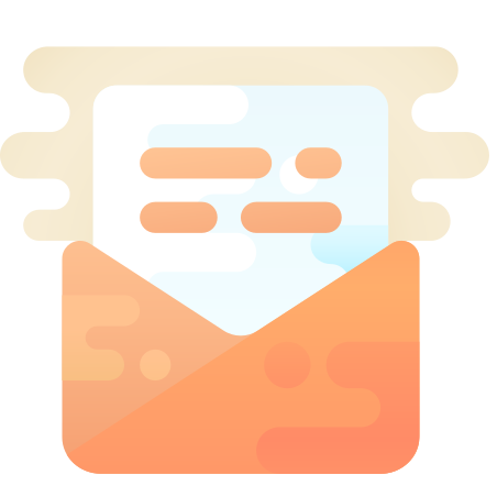 Open Envelope icon in Cute Clipart
