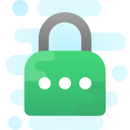 Password icon in Cute Clipart