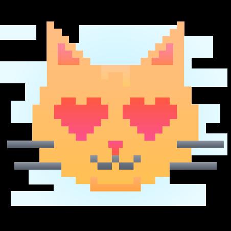 픽셀 고양이 icon
