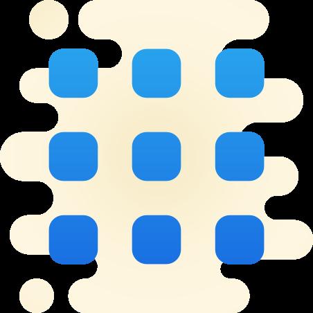 Squared Menu icon
