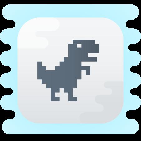 Steve Jumping Dino icon