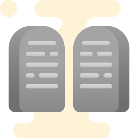 Tablets Of Stone icon in Cute Clipart