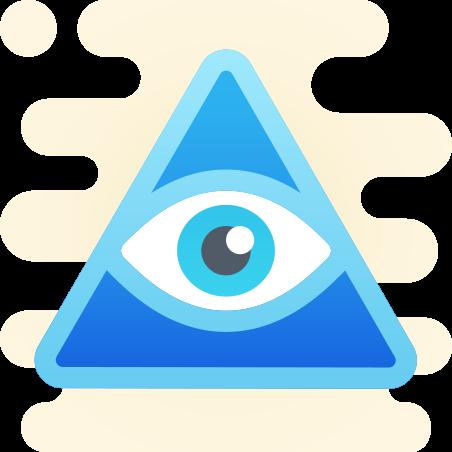 Third Eye Symbol icon