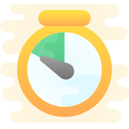 Timer icon in Cute Clipart