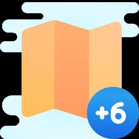 시간대 +6 icon