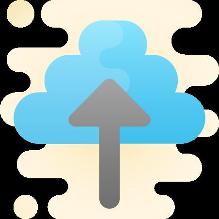 클라우드에 업로드 icon