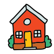 doodle home icon