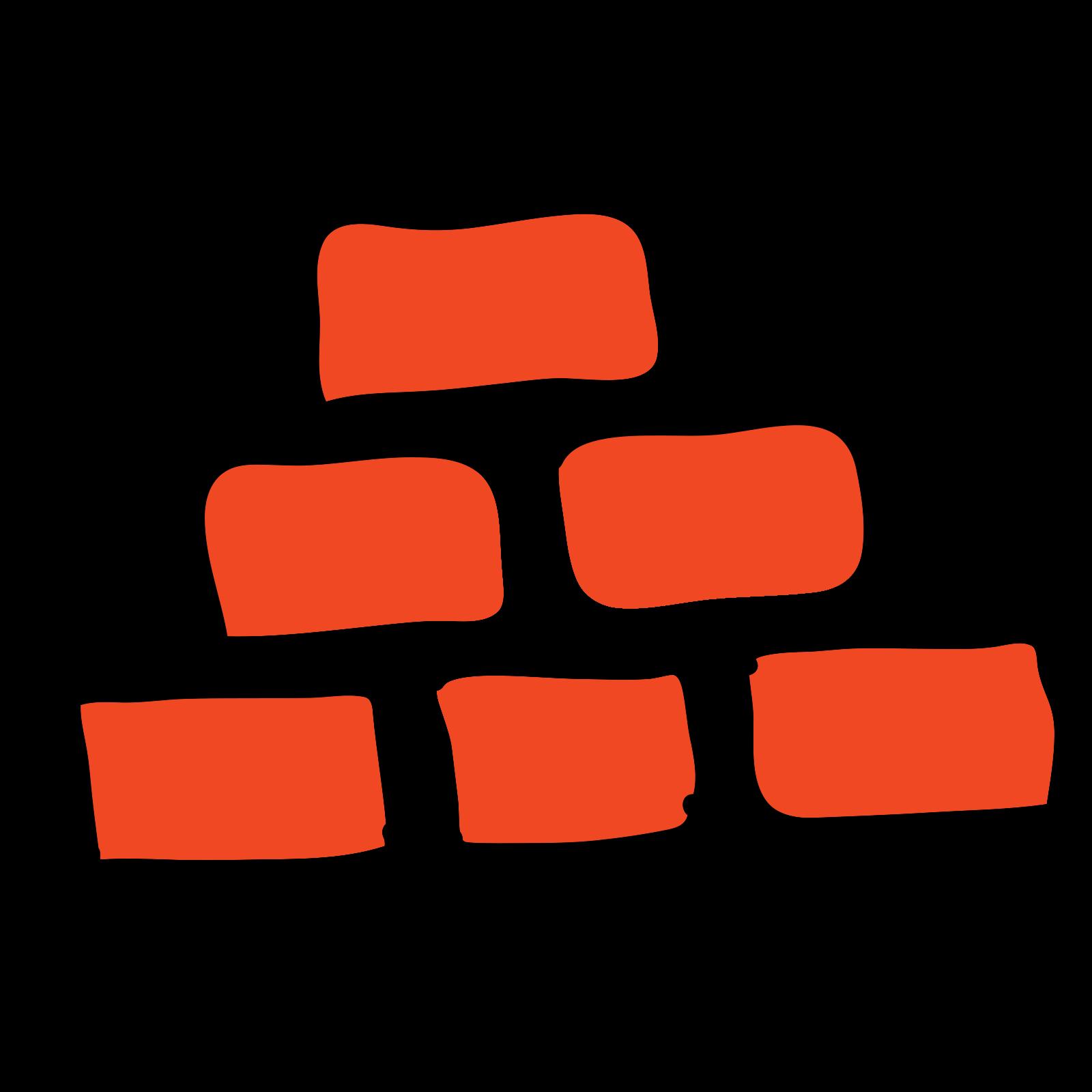 Mur z cegły icon