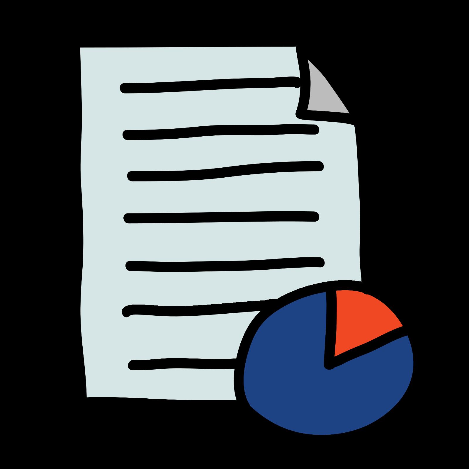 Raport biznesowy icon