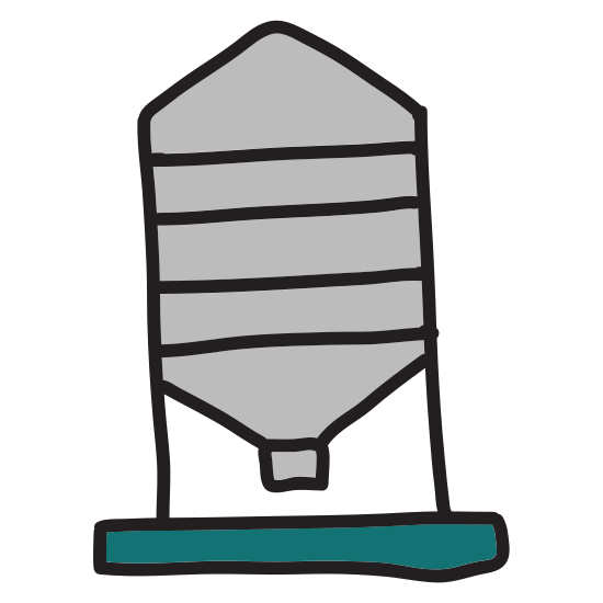 Chemical Storage Tank icon