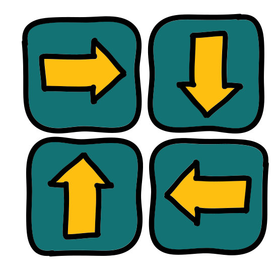 Directions Four Way icon