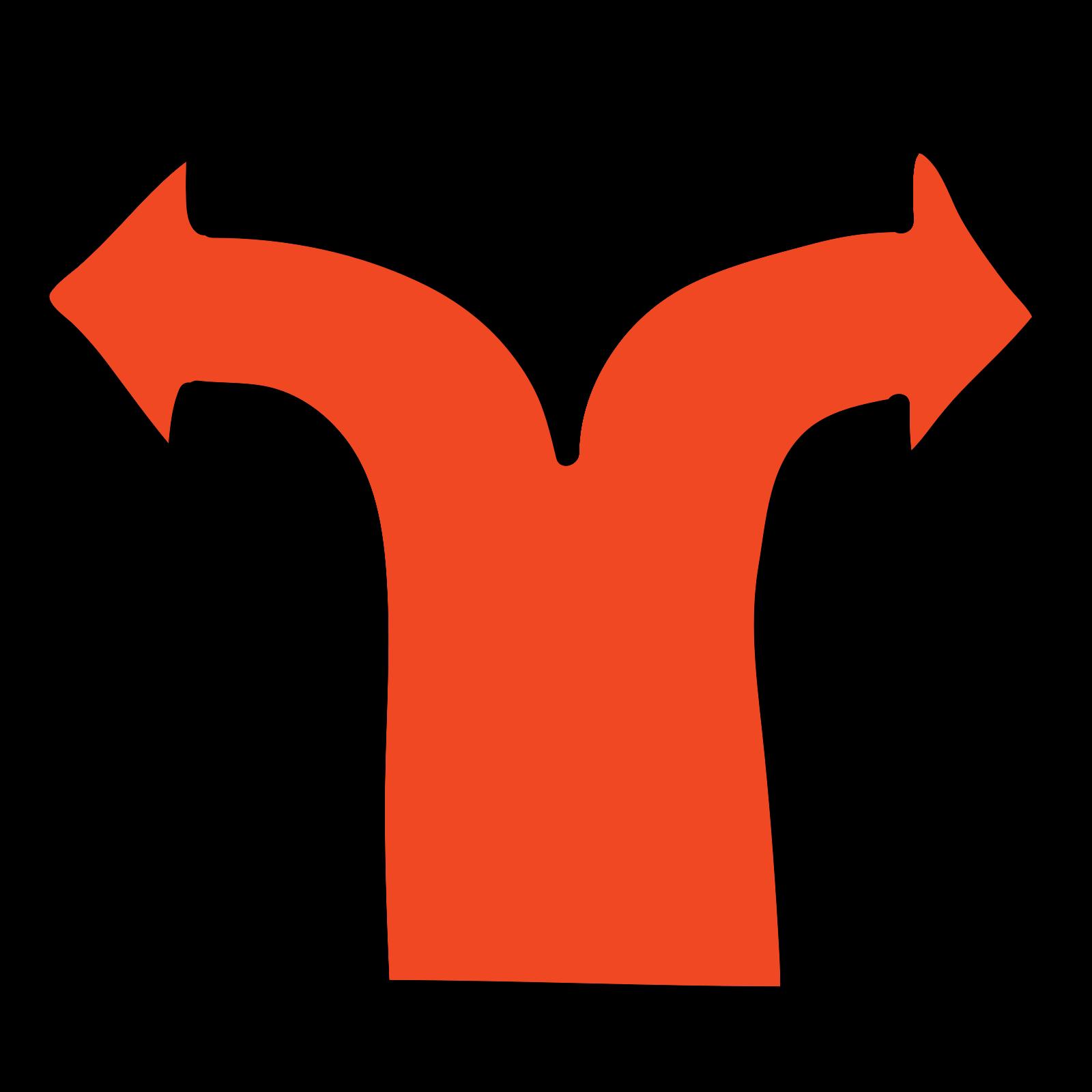 Divarication icon