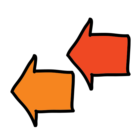 Double Left Arrows  icon