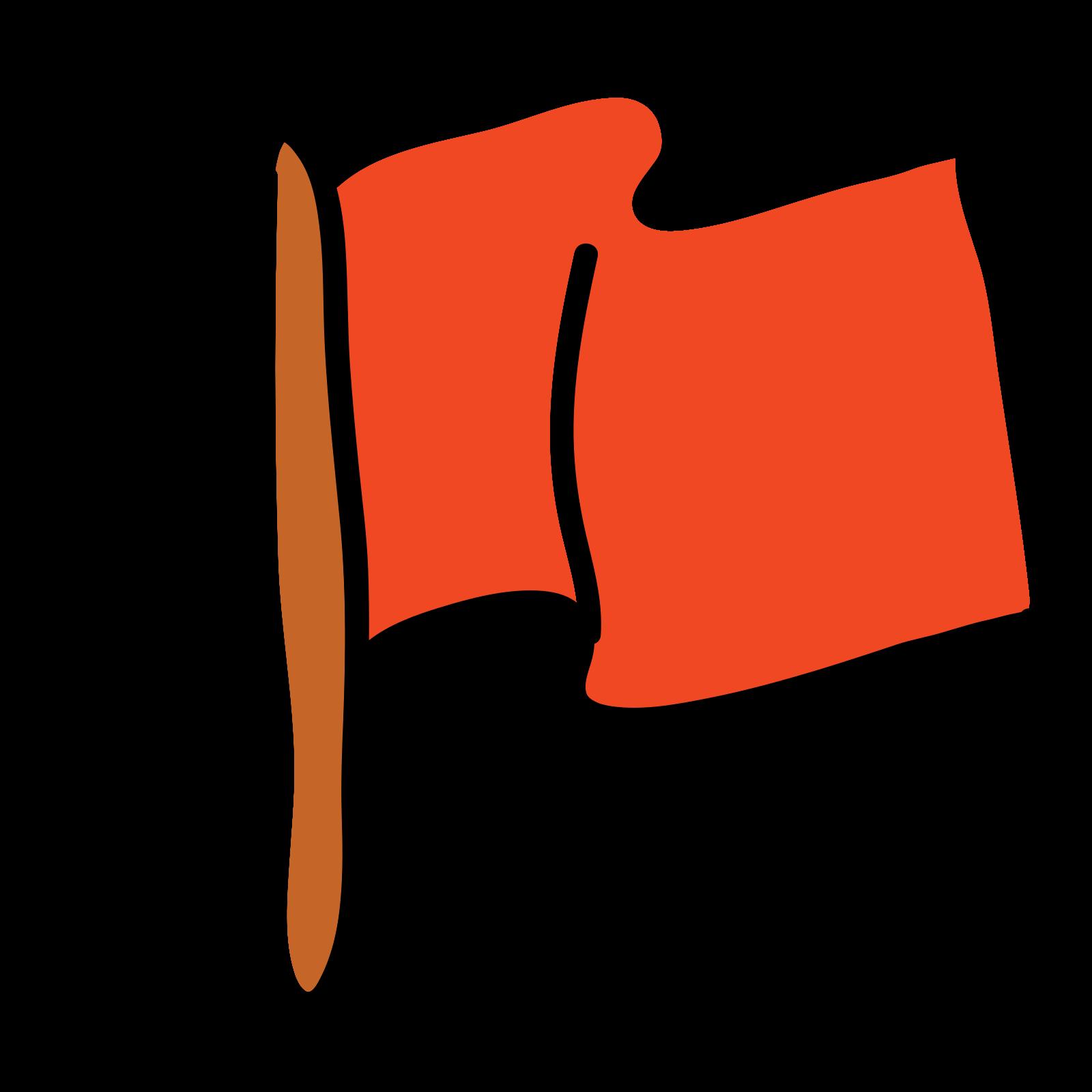 Wypełniona flaga icon