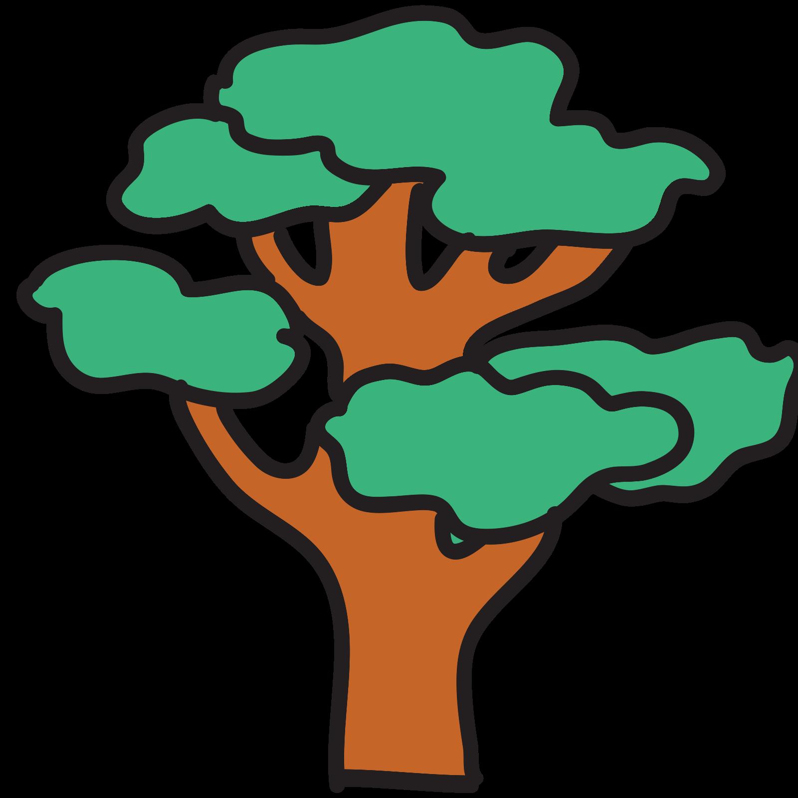 Duże drzewo icon