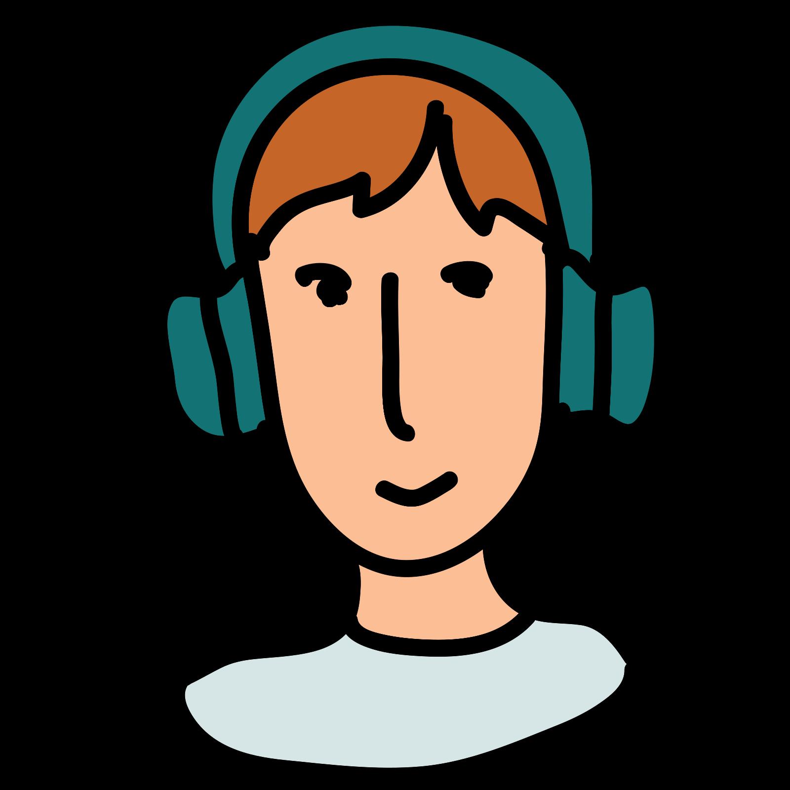 Man in Headphones icon