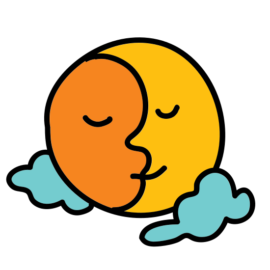Moon and Sun icon