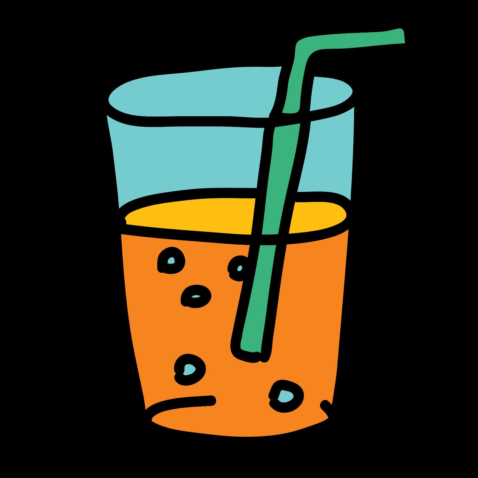 Sok pomarańczowy icon