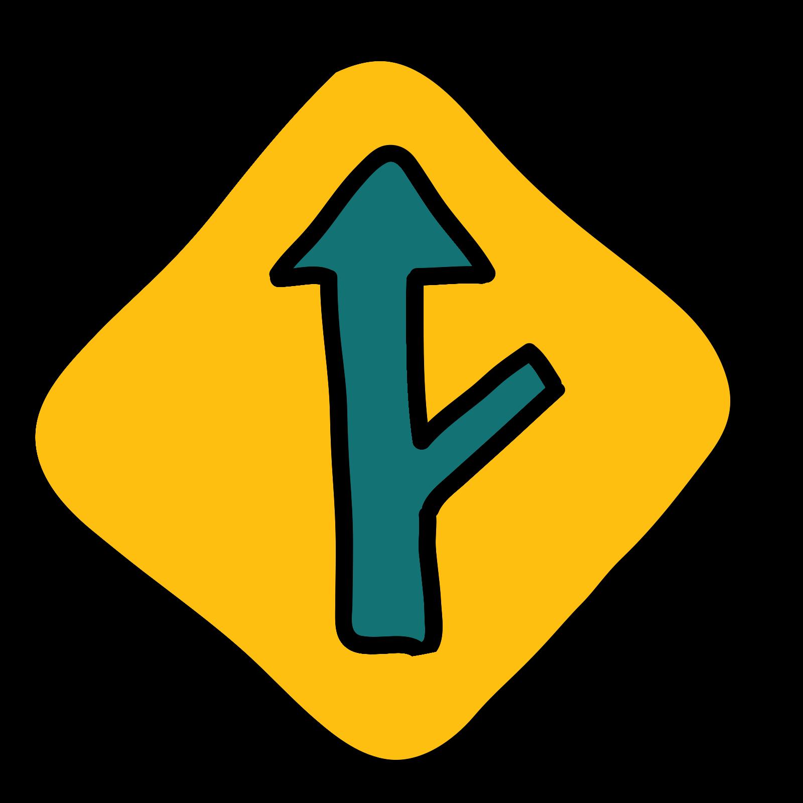 Road Exit icon