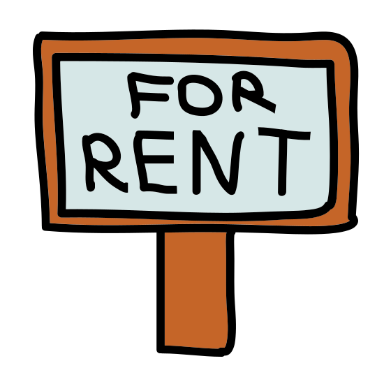 Sell Property Sign icon